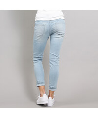 Urban Classics Ladies High Waist Skinny Denim Pants light blue 0d84eef554