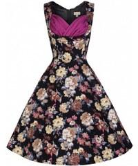 ac603da11b2 Dámské retro šaty Lindy Bop Ophelia Classical Bloom Lindy Bop T8506875