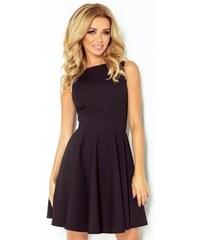 49135a4130dc Dámské elegantní šaty bez rukávu černé NUMOCO 125-5