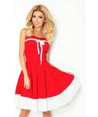 a67d2020460 Dámské šaty PIN UP ROCKABILLY červené s bílou 30-17 NUMOCO 30-17