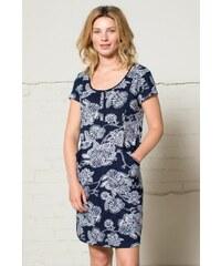 00263ea5ae9 Nomads BALI dámské šaty ze 100% biobavlny - tmavě modrá navy