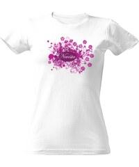 T-shock tričko s potiskem Nevěsta květiny dámské 97d2f32109