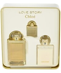 f6ee126629 CHLOÉ Love Story - parfémová voda 75ml + telové mlieko 100ml + miniatúra  7.5ml