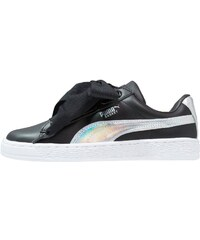 Puma Basket Classic - Baskets Basses - Black/Burnt Olive