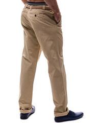 0b6691ee1ef Béžové pánské chino kalhoty Bolf 6190