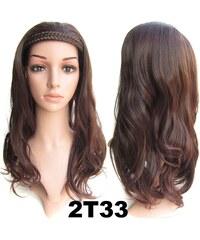 f8c6ebaaf Svetovy tovar Poloparochňa - 3/4 parochňa s čelenkou z pletených vlasov ( odtieň 2