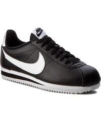 0fa6237121 Cipők NIKE - Classic Cortez Leather 807471 010 Black/White/White