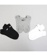 Nike 3PPK Lightweight No Show černé   bílé   šedé 517af9f5e9