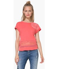 e80eb3406e3 tričko Desigual Bali deep sea coral