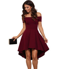 Manzara Elegantné šaty CICCI červené dfbe522c9ce