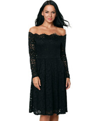 f9d8cf22d4c Manzara Koktejlové šaty SIMONE čierne
