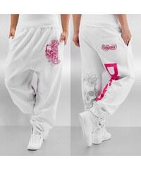 Dangerous DNGRS Flower Sweatpants White f40343510c