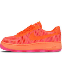 Nike WMNS Air Force 1 Low Upstep BR Total Crimson 833123-800 3e8b973b36e