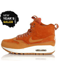 Nike WMNS Air Max 1 Mid Sneackerboot Tawny Sail Gum Med Brown 685267-200 d7c58f54c2