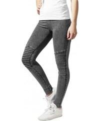 9ea3780a427 Urban Classics Ladies Denim Jersey Leggings darkgrey