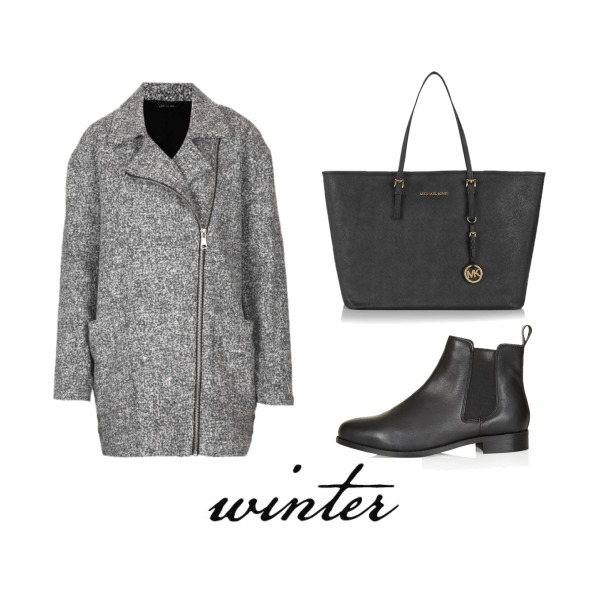 black-gray winter