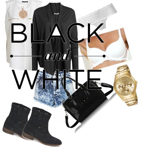 Black -White