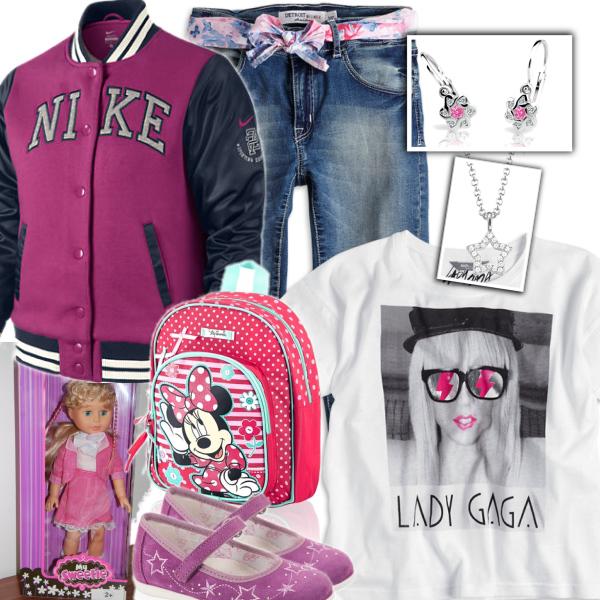 Podzimní outfit pro holčičku:)
