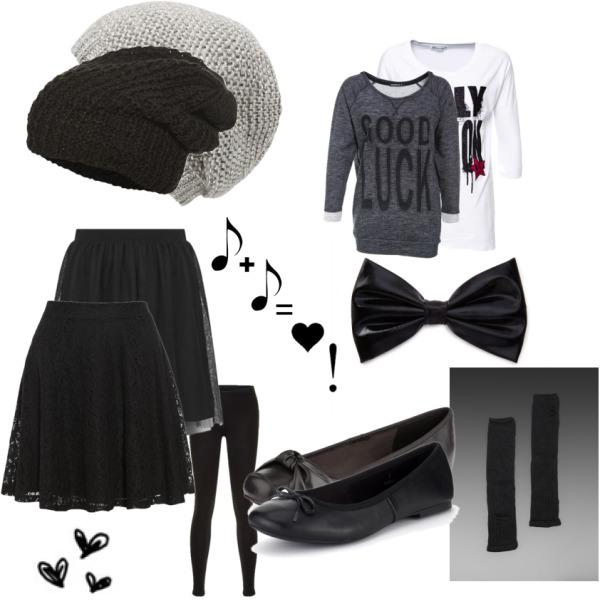 I love grey and black !!!