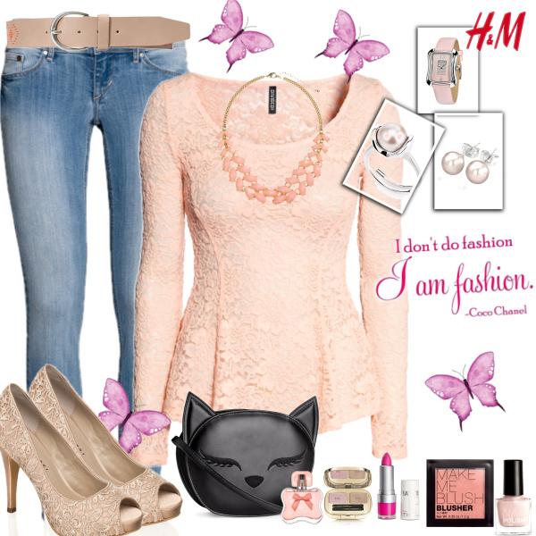 I love H&M, I love pink