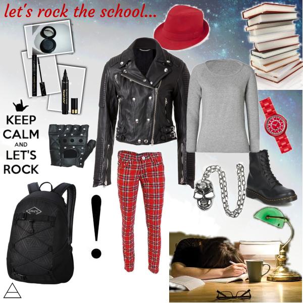 let's rock the school...