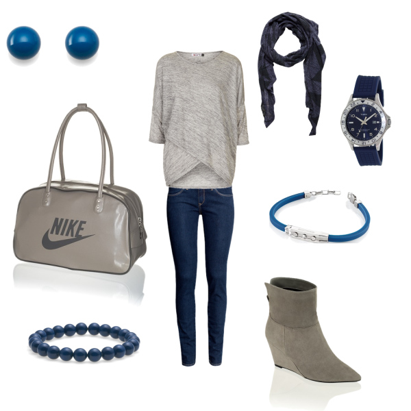 Grey and Blue :***