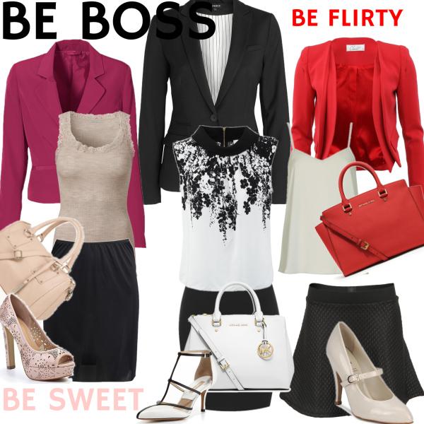 BE BOSS, BE SWEET, BE FLIRTY
