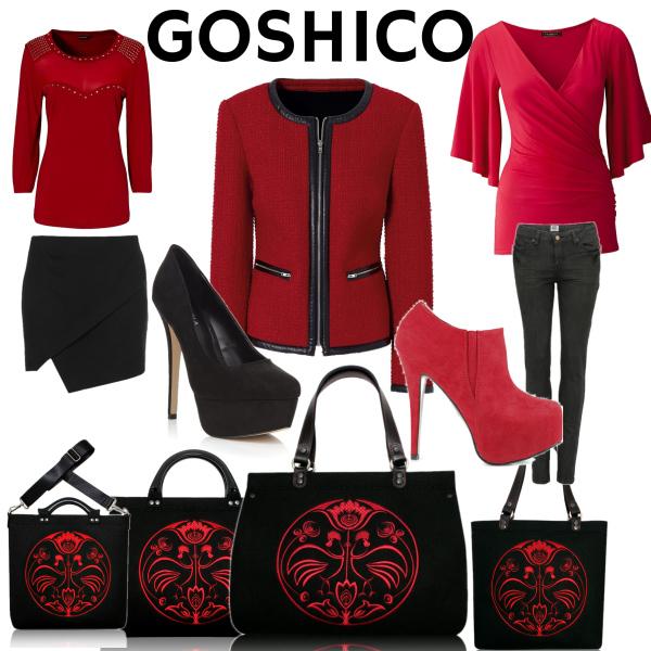 goshico kabelky
