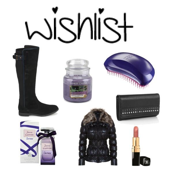 My wishlist December 2013