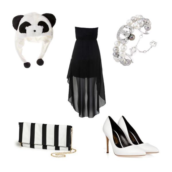 Černo - bíla
