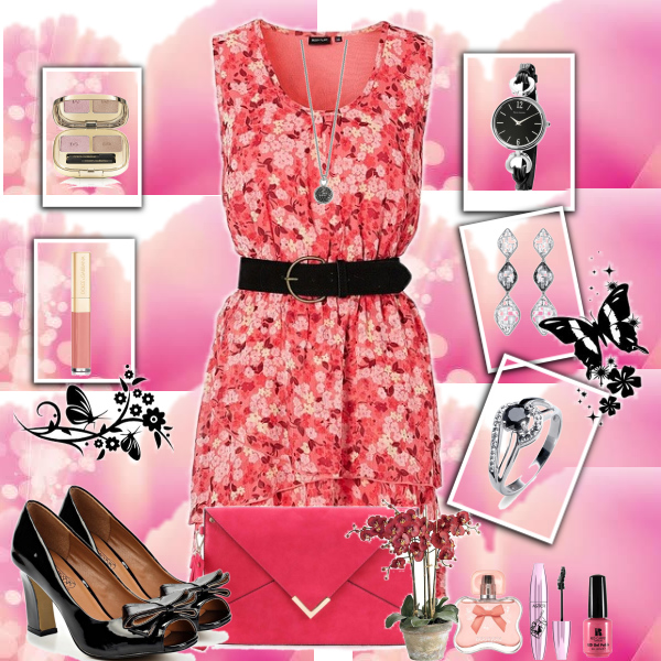 Black and pink style