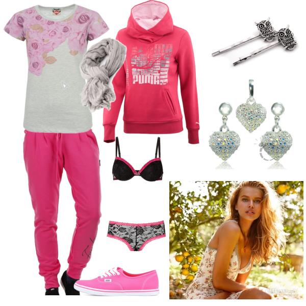 pink autumn home set