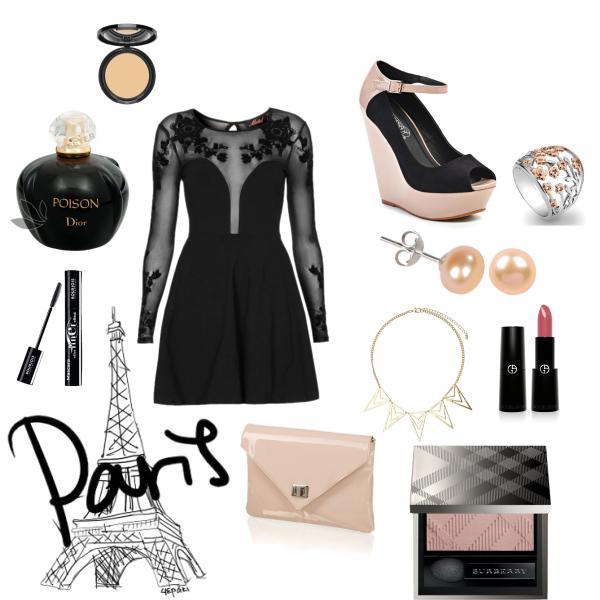 Noc v Paříži