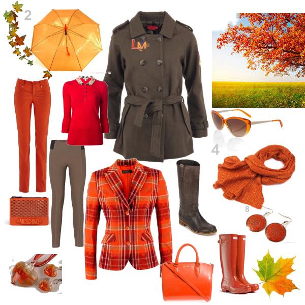 podzimní cesta do práce