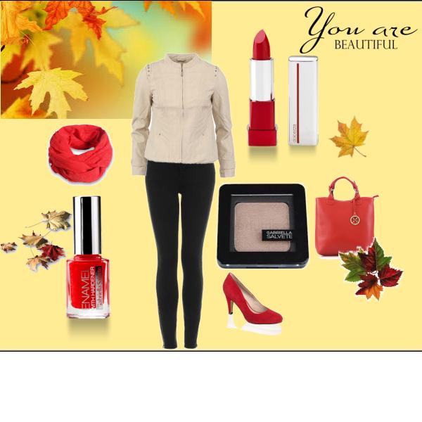 podzim cervena