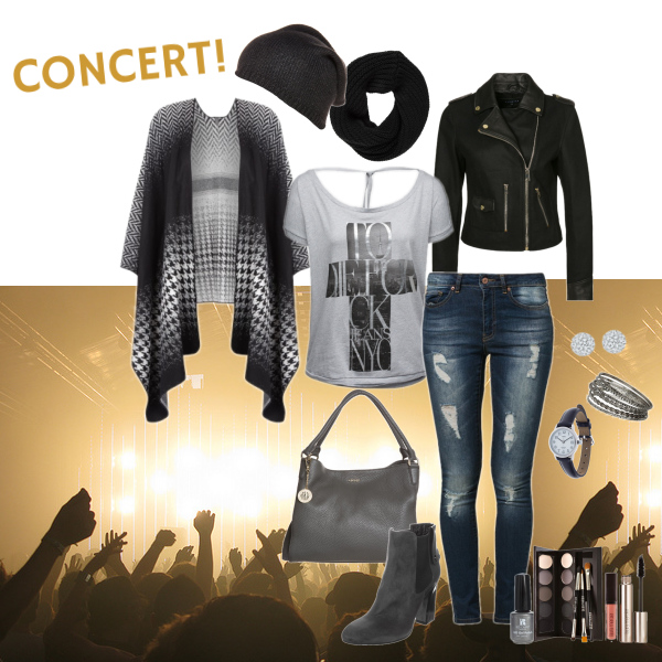 go to concert!
