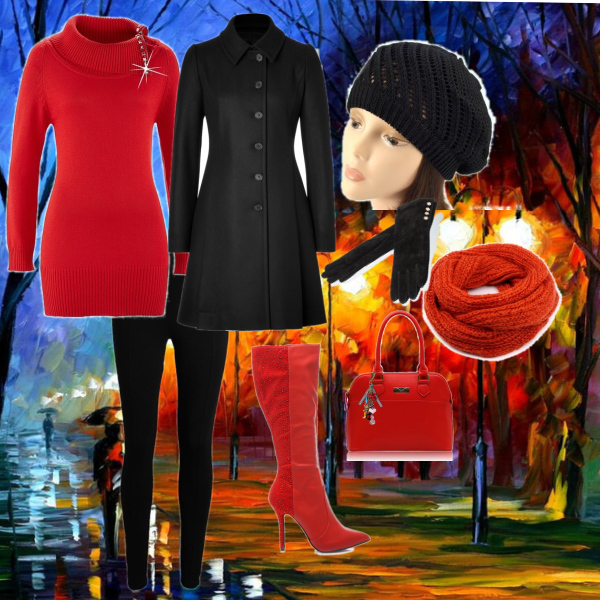 Podzimní večerní outfit