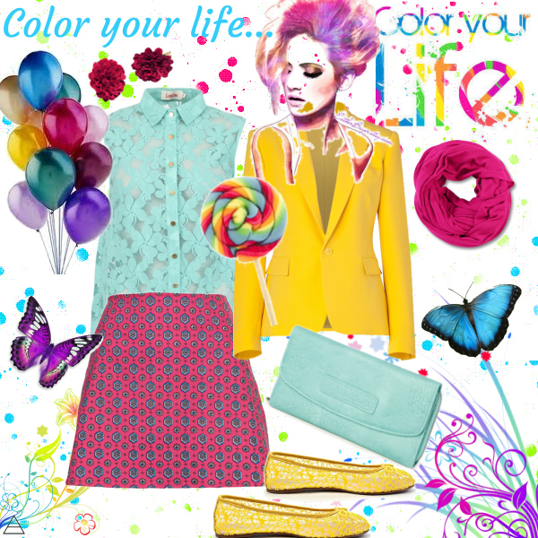 Color your life...