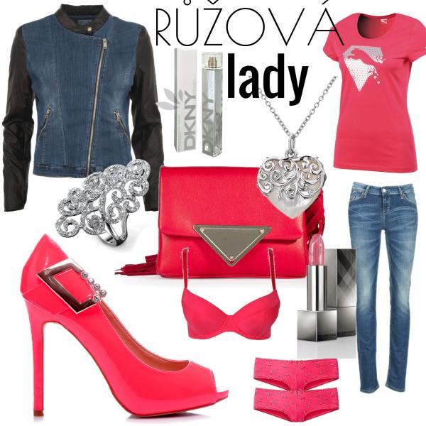 růžová lady