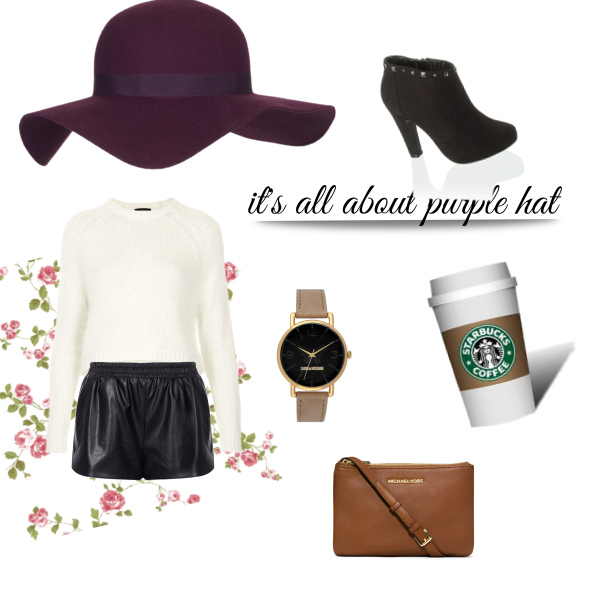 it's all about PURPLE HAT
