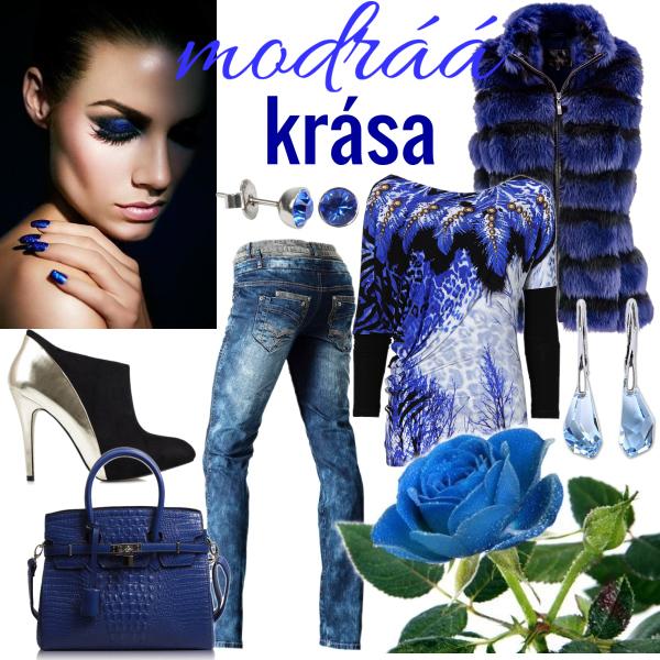 modráá krása