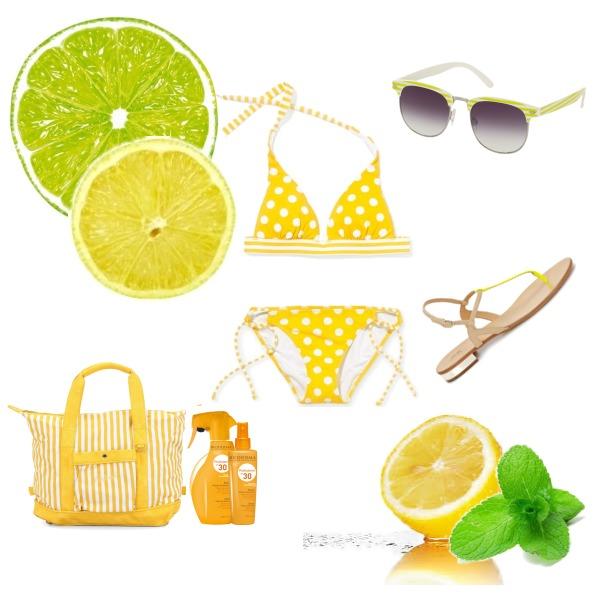 Juicy yellow