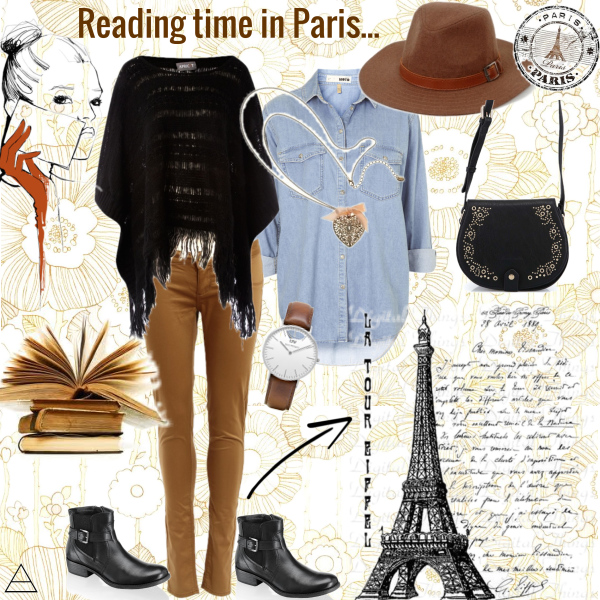 Reading time in Paris...