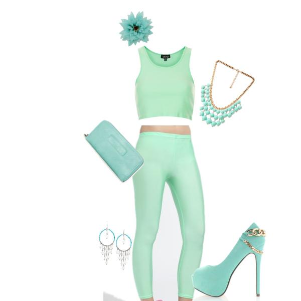 zelená moda