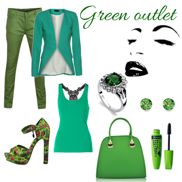 Green outlet**