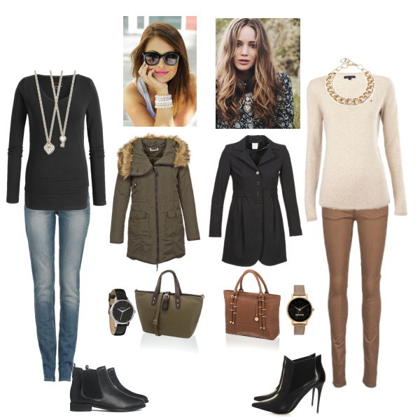 Chelsea boots, 2 outfits