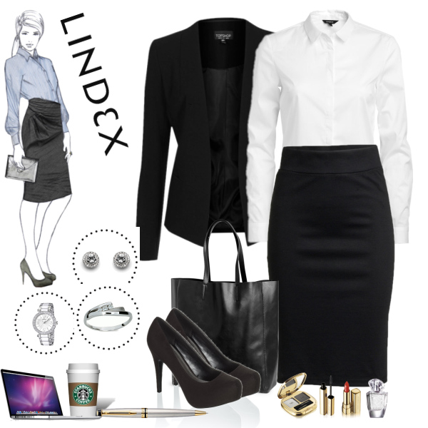 Lindex outfit in the office