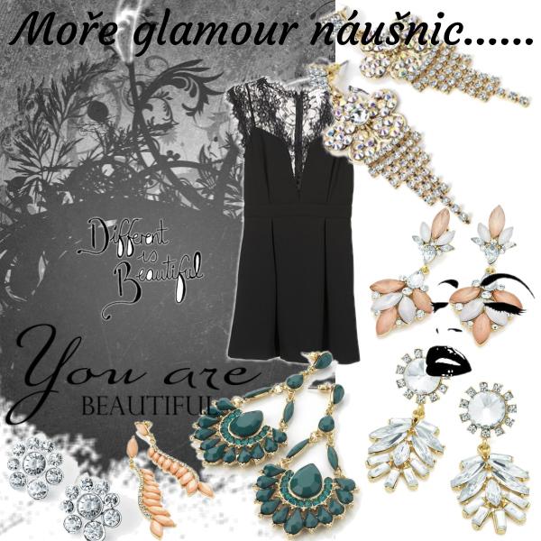 Náušnice Glamour inspirace