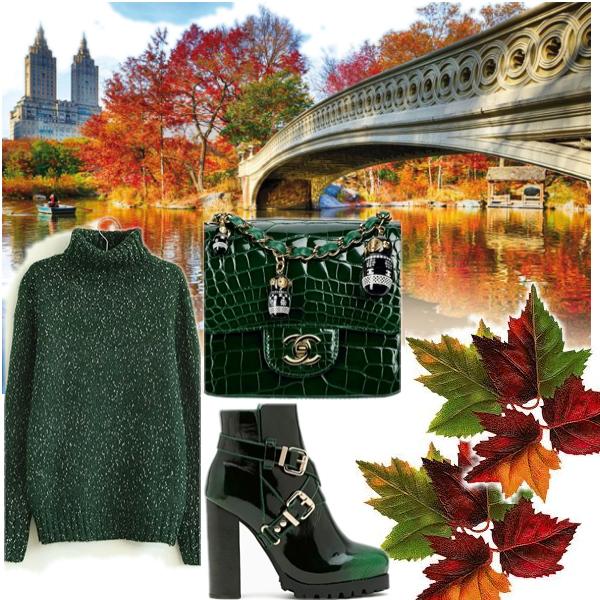 Podzim - zelená