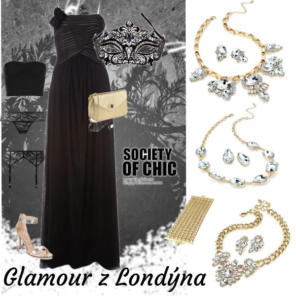 Glamour z Londýna